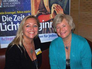 Diana Cooper und Tanja Mazurek