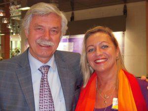 Hans Stolp und Tanja Mazurek