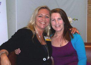 Lorna Byrne und Tanja Mazurek