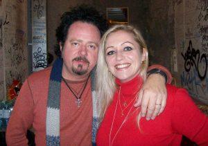 Steve Lukather und Tanja Mazurek